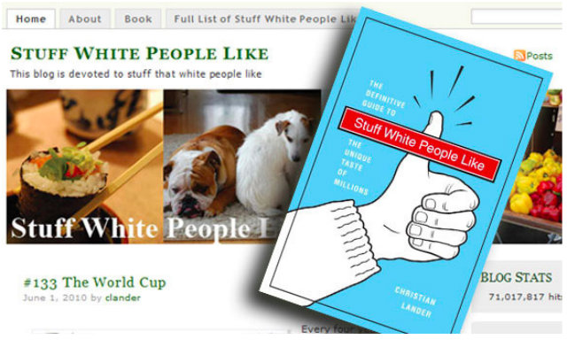 Stuff White People Like